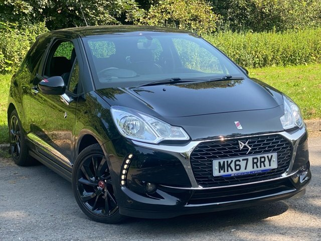USED 2017 67 DS DS 3 1.6 BLUEHDI PERFORMANCE LINE S/S 3d 98 BHP FULL TOUCH SCREEN MEDIA, SAT NAV