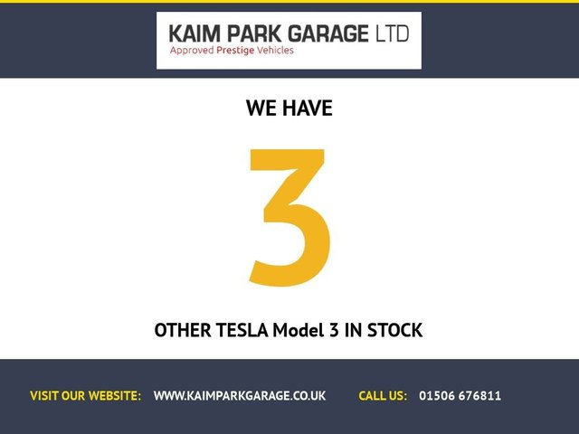 """USED 2019 69 TESLA Model 3 Dual Motor Performance Auto 4WDE 4dr (Performance Upgrade) 1 Owner, Pan Roof, 20""""s + More"""