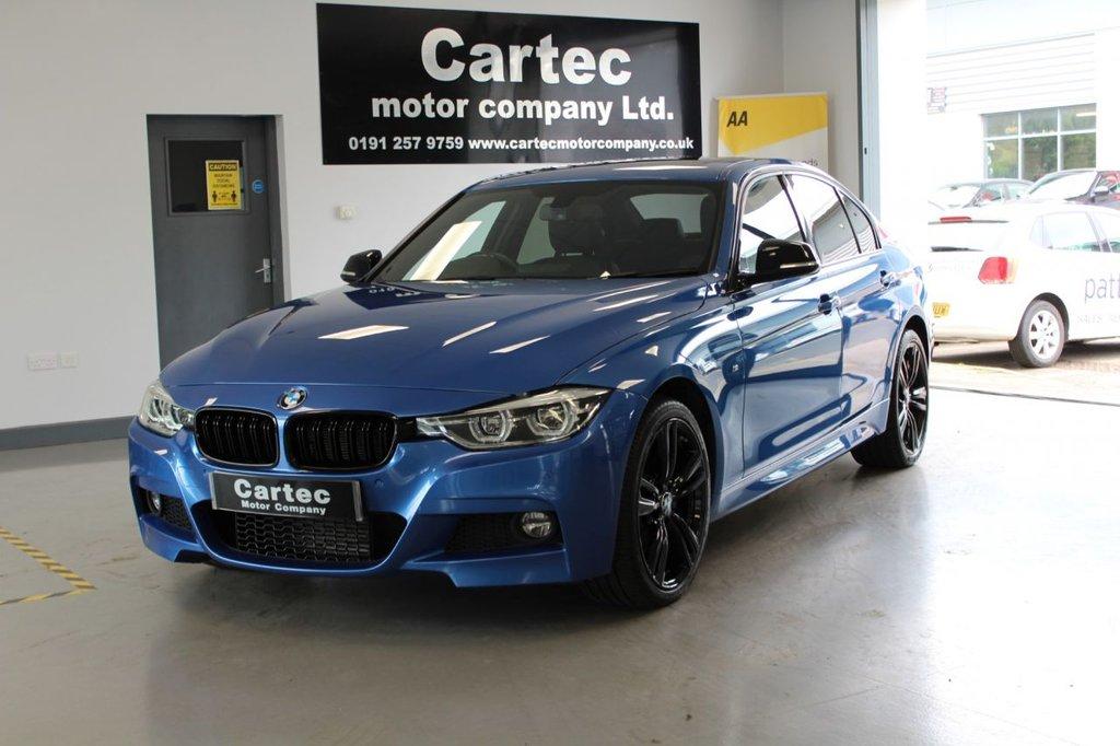 USED 2016 66 BMW 3 SERIES 2.0 320D XDRIVE M SPORT 4d 188 BHP **M SPORT FULL LEATHER INTERIOR***