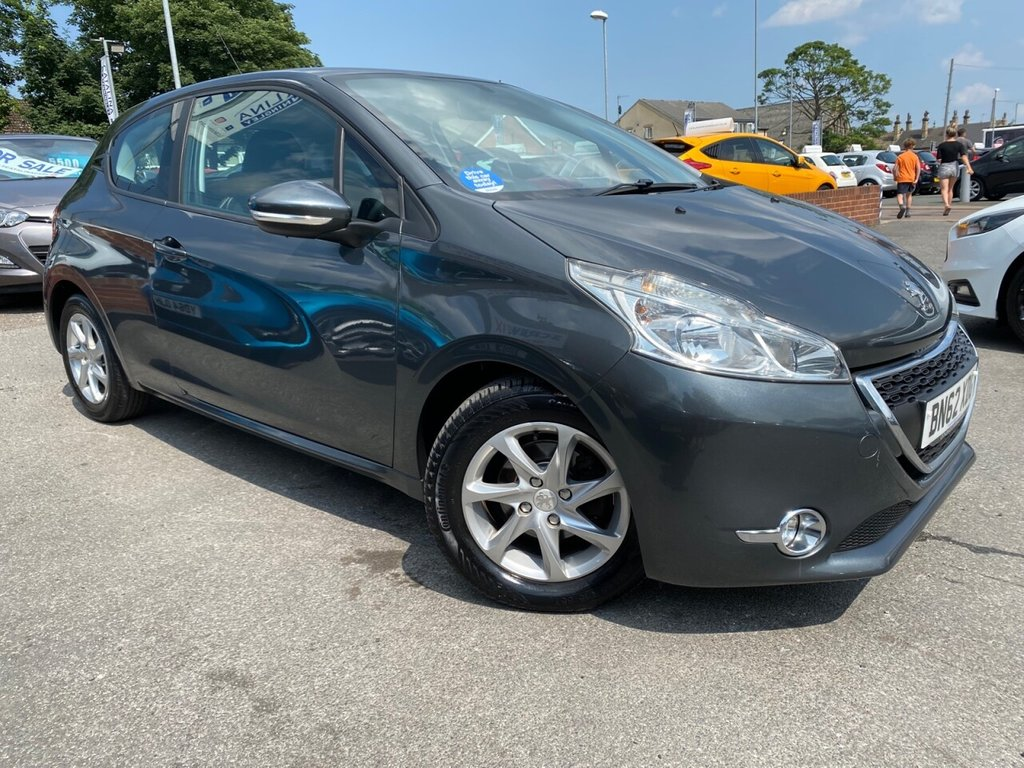 USED 2012 62 PEUGEOT 208 1.2 ACTIVE 3d 82 BHP TOUCH SCREEN-LOW MILES-VALUE