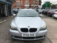 USED 2005 55 BMW 5 SERIES 2.0 520D SE TOURING 5d 161 BHP