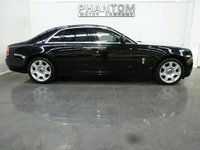 USED 2011 11 ROLLS-ROYCE GHOST 6.6 V12 4d AUTO 564 BHP WHITE LEATHER/PAN ROOF & MORE