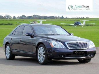 2006 MAYBACH 57 57 5.5 V12 4d AUTO 550 BHP  £84990.00