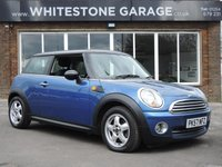 2007 MINI HATCH 1.6 COOPER 3door  118 BHP Pepper Pack £4500.00