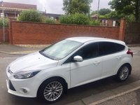 USED 2013 13 FORD FOCUS 1.6 ZETEC 5d 104 BHP Frozen White, Appearance Pack, 17 inch Alloys