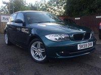2009 BMW 1 SERIES 2.0 116D SPORT 5d 114 BHP £5990.00