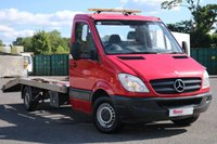 USED 2011 60 MERCEDES-BENZ SPRINTER 2.1 313 CDI LWB 5d 129 BHP Great Flatbed Truck