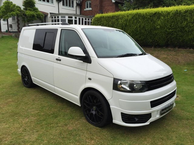 2011 61 VOLKSWAGEN TRANSPORTER 2.0 T28 TDI 5d 102 BHP LOWERED ON COIL OVERS
