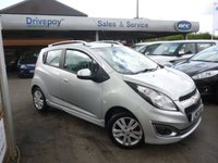 USED 2013 13 CHEVROLET SPARK 1.2 LTZ 5d 80 BHP LOVELY LOW MILEAGE