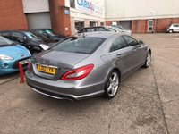 USED 2012 12 MERCEDES-BENZ CLS 250 CDI AMG SPORT 4d AUTO Low Rate Finance