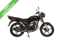 USED 2017 17 SINNIS Max 125 II   BRAND NEW!***SOLD*** ***FREE DELIVERY WITHIN 60 MILES***COLOURS BLACK OR BLUE***