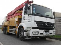 USED 2005 55 MERCEDES-BENZ AXOR  2628 36 METRE PUTZMEISTER MOBILE CONCRETE PUMP