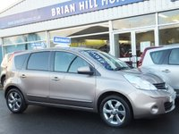 USED 2011 61 NISSAN NOTE 1.6 N-TEC 5d AUTO 110 BHP One owner / Full service history / Like brand new