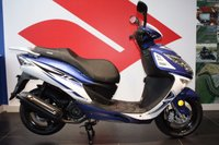 USED 2017 17 SINNIS Shuttle 125 BRAND NEW! 2016 MODEL  ***FREE DELIVERY WITHIN 60 MILES***COLOURS BLACK OR BLUE***