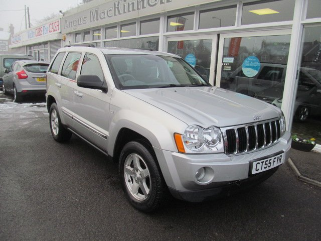 Captivating USED 2005 55 JEEP GRAND CHEROKEE 3.0 V6 CRD LIMITED 5d AUTO 215 BHP Low  Mileage