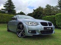 2011 BMW 3 SERIES 2.0 320D M SPORT 2d 181 BHP with FULL CREAM LEATHER  £13490.00