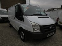 2010 FORD TRANSIT 85T 280 2.2TDCI SWB LOW ROOF VAN  £5495.00