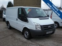 2010 FORD TRANSIT 85T 260 2.2 TDCI 85PS SWB LOW ROOF VAN 2198 cc one company owner with FSH and only 87,000 miles!! £5495.00