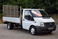 USED 2007 07 FORD TRANSIT 2.4 350 LWB  115 BHP NO VAT TO ADD