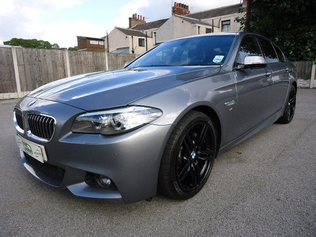 2013 13 BMW 5 SERIES 3.0 530D M SPORT 4d AUTO 255 BHP