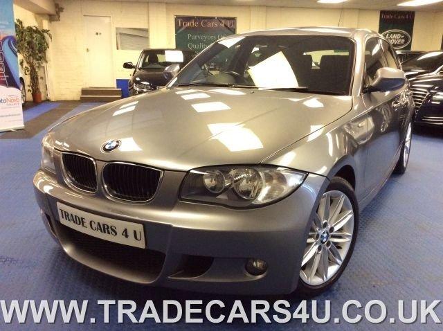 2011 11 BMW 1 SERIES 118D M SPORT TURBO DIESEL 5 DOOR START/STOP 6 SPEED