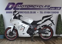 USED 2016 66 DAELIM ROADSPORT 250 NEW, 250CC, STUNNING WHITE