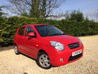 USED 2009 09 KIA PICANTO 1.1 RED 5d AUTO 64 BHP Very Low Mileage & Great Condition