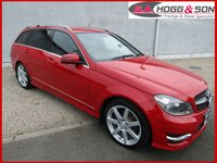 2012 MERCEDES-BENZ C CLASS 2.1 C200 CDI BLUEEFFICIENCY SPORT 5dr NICE EXAMPLE £10495.00