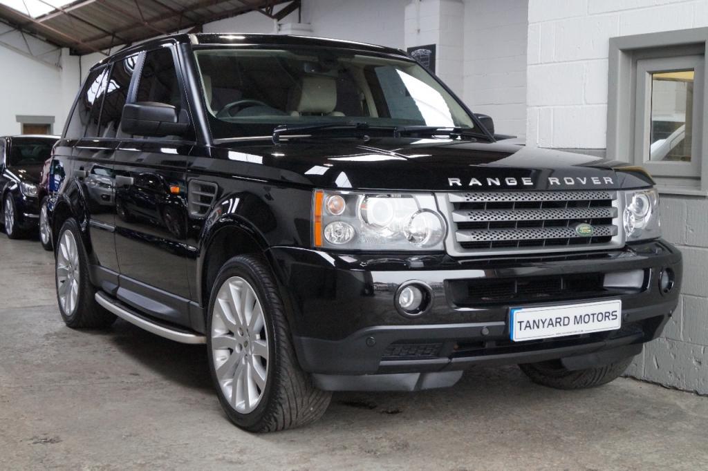 2008 Land Rover Range Rover Sport Tdv6 Sport Hse