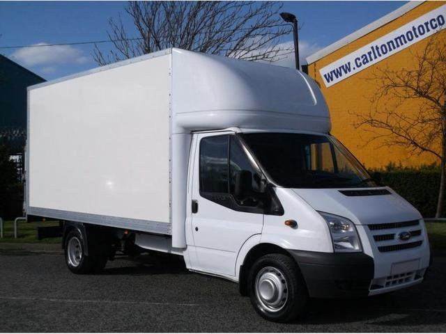 2013 63 FORD TRANSIT T350EF Tdci 125 Luton 14ft Box Van+T/Lift Free uk Delivery