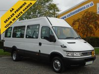 USED 2006 56 IVECO-FORD DAILY MINIBUS 50c14  Wheelchair Wav Low mileage Tachograph-Coif-Delivery can be arranged