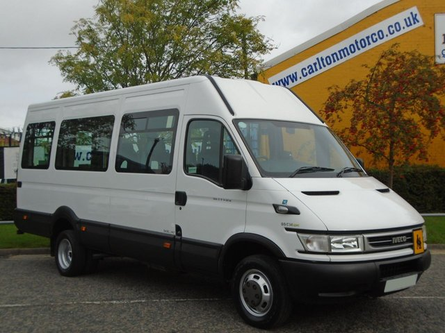 2006 56 IVECO-FORD DAILY MINIBUS 50c14  Wheelchair Wav Low mileage Tachograph-Coif-Delivery can be arranged