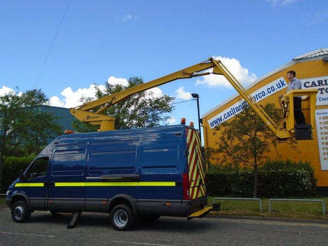 2006 56 IVECO-FORD DAILY 65c17 Access platform / Cherry picker 13.5m SEE WEBSITE FOR VIDEO