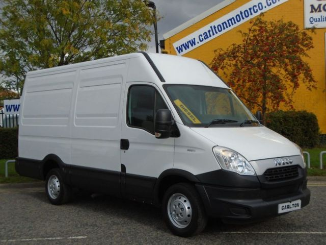 2012 12 IVECO-FORD DAILY 35s11 H2 Mwb [ NO VAT TO PAY LTD OFFER ] High Roof Van RWD Delivery