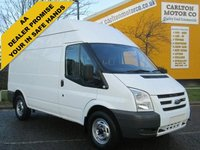 USED 2008 58 FORD TRANSIT 115 T350m High roof van Rwd, Low mileage Free uk Delivery Lez