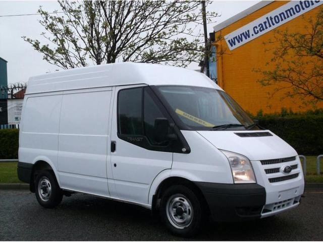 2012 61 FORD TRANSIT 125 T280s Med Roof Tailgate Ex Lease Free uk Delivery