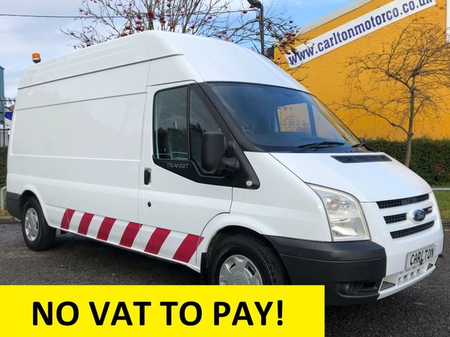 2007 56 FORD TRANSIT 115 T350 Lwb High Roof [ Mobile Workshop & Tail Lift ] van MASSIVE SAVING NOW VAT !