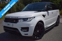 USED 2014 63 LAND ROVER RANGE ROVER SPORT 3.0 TDV6 SE 5d AUTO 258 BHP FLRSH! PAN ROOF! STEALTH PACK! STUNNING EXAMPLE MAINTAINED REGARDLESS OF COST!