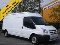 USED 2012 12 FORD TRANSIT 100 T300L Med-Roof [ Air Con+Sat ] panel van Delivery T,B,A