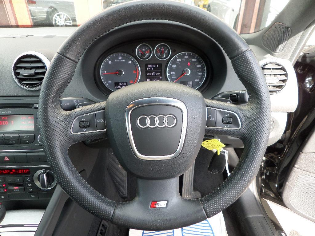 2012 Audi A3 Sportback TDI S Line 11000