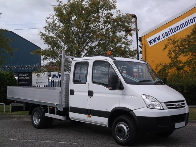 2007 56 IVECO-FORD DAILY 3.0 65C18 D/Cab Dropside[ New body ] Low mileage Free uk Delivery