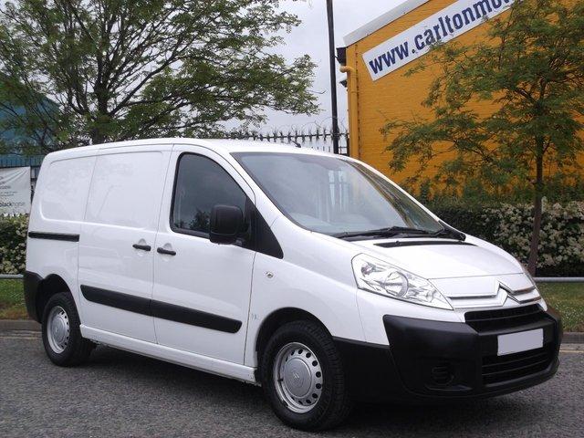 2012 12 CITROEN DISPATCH 1000 L1H1 Enterprise 1.6HDi TSLD Low mileage Free UK Delivery