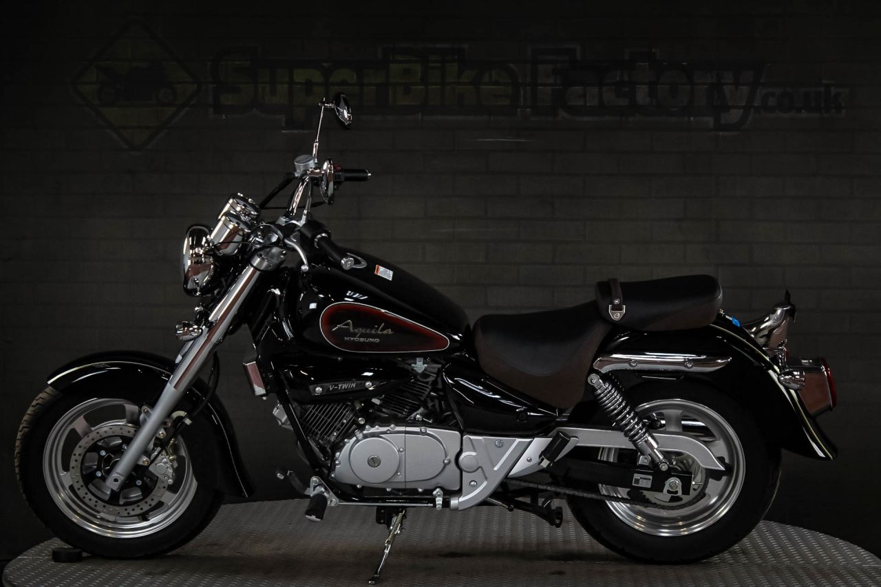 ... USED 2018 HYOSUNG GV 125CC, 0% DEPOSIT FINANCE AVAILABLE GOOD & BAD  CREDIT ACCEPTED ...