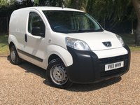 USED 2011 11 PEUGEOT BIPPER 1.4 HDI S 5d 68 BHP VERY CLEAN WELL CARED FOR VAN
