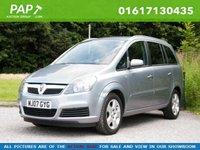 2007 VAUXHALL ZAFIRA 1.8 ENERGY 16V 5d 139 BHP - Good mileage £2494.00