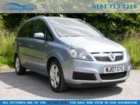2007 VAUXHALL ZAFIRA 1.8 ENERGY 16V 5d 139 BHP - Good mileage £2494.00