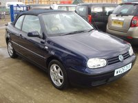 USED 2000 W VOLKSWAGEN GOLF 1.6 SE 2d 99 BHP GENUINE LOW MILES