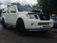 2012 NISSAN NAVARA 3.0 OUTLAW DCI 4X4 SHR DCB 5d AUTO 228 BHP £19990.00