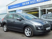 USED 2012 12 PEUGEOT 3008 1.6 ACTIVE HDI FAP 5d 112 BHP 24000 mls. One owner/ Full dealer service history/ Like new
