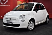 USED 2014 14 FIAT 500 1.2 POP 3d 69 BHP  £100 DEPOSIT £108 PER MONTH